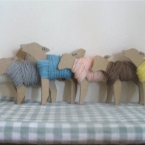 羊の糸巻き
