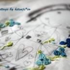 子どもの絵で作る「サシェ*ドール」