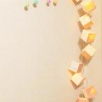 和紙のキュービストライト
