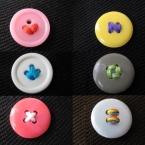 4つ穴ボタンで★ボタンギャラリー?★