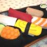 フェルトで作るオモチャ★お寿司屋さんごっこ★