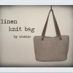 かぎ針編みの夏バッグ