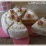 *フェルトと編み編みコラボのミニケーキ*