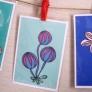 手作り*flower*ポストカード