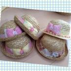 子供用の麦わら帽子