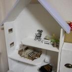 子供の木のおもちゃ♪ドールハウス♪
