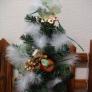 クリスマスのミニツリー
