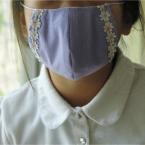 まるい立体マスク【型紙アリ】
