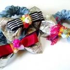 sparkle ribbon chouchou