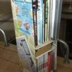 大掃除で出たいらないダンボールで可愛い本棚作り!