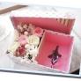 カルトナージュ風・お花いっぱいの小物入れボックス