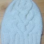 ハート模様の帽子