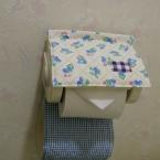 トイレのペーパーホルダー。