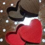 バレンタインに、ハート型ボックス