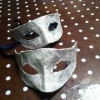 手作りハロウィーンマスク