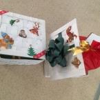 デコパージュのクラフト・プレゼントボックス