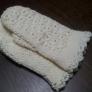 玉編み模様ミトン
