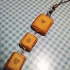 トランプの三連クッキー
