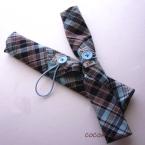 ハンカチ1枚からふたつ作れる箸袋