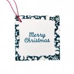 マスキングテープで作る簡単クリスマスミニカードタグ