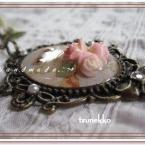 薔薇+レジン=:*(〃∇〃人)*:・