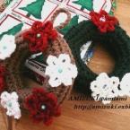 毛糸で作ろう・第二弾!クリスマスリース♪