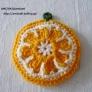 オレンジのエコたわし♪