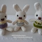 簡単♪ ウサギの編みぐるみ