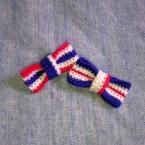 刺繍糸でリボン