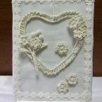 編み花 de リース