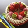 【かぎ編み】ホールケーキのギフトBOX