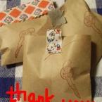 ちょこっとありがとう袋