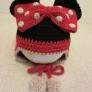 ミニーちゃんの帽子(キッズサイズ)