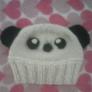 パンダのbabyニット帽