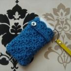 松編みのデジカメカバー