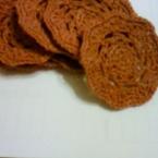 毛糸のコースター