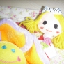 女の子の人形 ´p`★