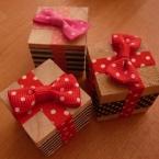 クリスマス飾りにも♪プレゼントボックス