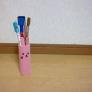 ピンクうさ★のペンたて