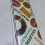 ビニル袋で作るオリジナル手帳カバー