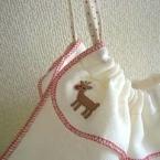 フキンやハンドタオルで作る超簡単!巾着ぶくろ