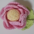 かぎ編みで作る蓮の花