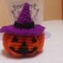 かぎ編みで作るハロウィンの帽子