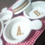 アルファベットの小皿