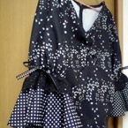 フラメンコブラウスの袖飾りの作り方