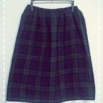 簡単ギャザースカート