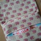 折って縫う、簡単♪おしりふきケース