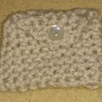駒編みポーチ