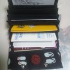 和柄のカードケース