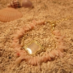 Coral two ream bracelet